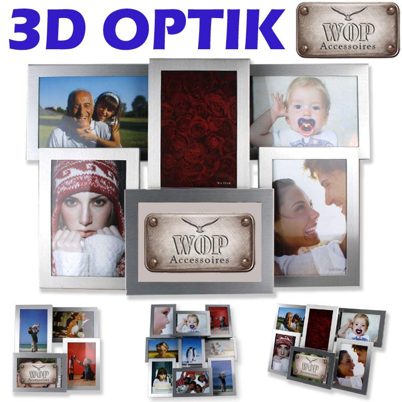 aluminium 3d bilderrahmen bildergalerie foto fotorahmen. Black Bedroom Furniture Sets. Home Design Ideas