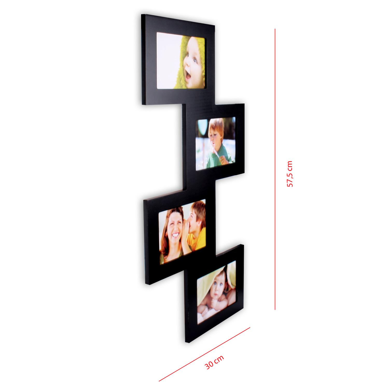 Bilderrahmen bildergalerie 4 fotos 10 x 15 cm fotorahmen - Anordnung bilderrahmen ...