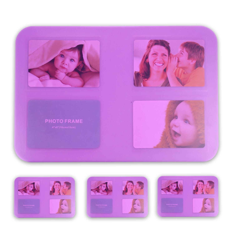 Tischset-Platzset-Untersetzer-Foto-Platzdeckchen-abwaschbar-4-12er-SET-5-Farben Indexbild 7