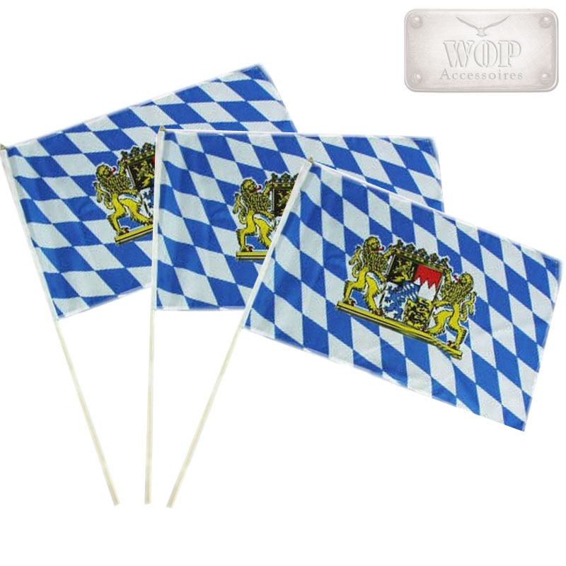 fahne stabflagge oktoberfest bayern party bavaria deko. Black Bedroom Furniture Sets. Home Design Ideas
