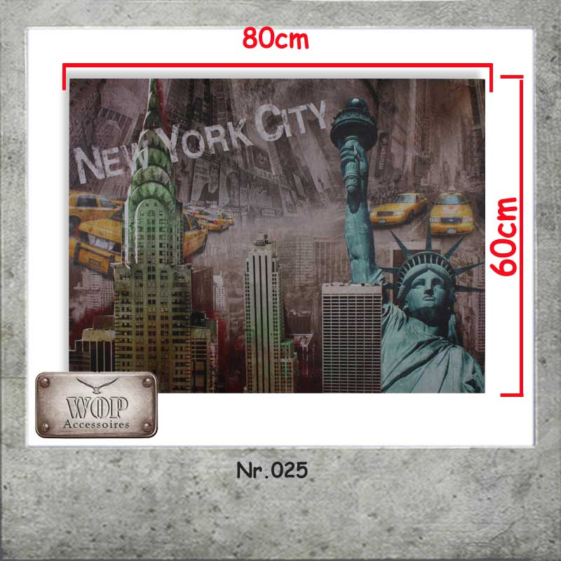 xl new york bild leinwand gem lde amerika holzrahmen freiheitsstatue. Black Bedroom Furniture Sets. Home Design Ideas