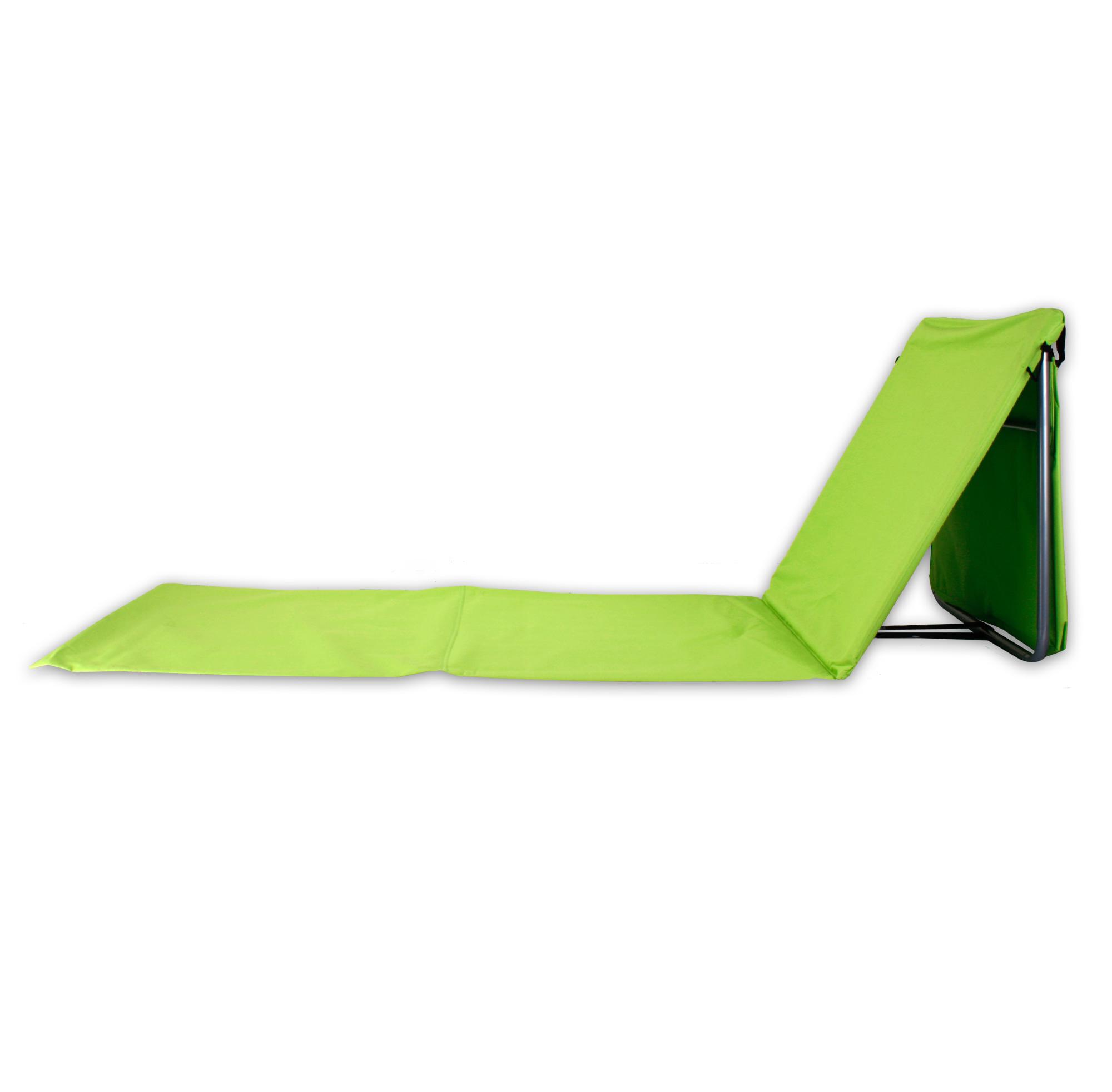Pliable transat plage tapis pliante chaise longue longue longue Chaise tapis outdoorliege en 4 couleurs fb8b45