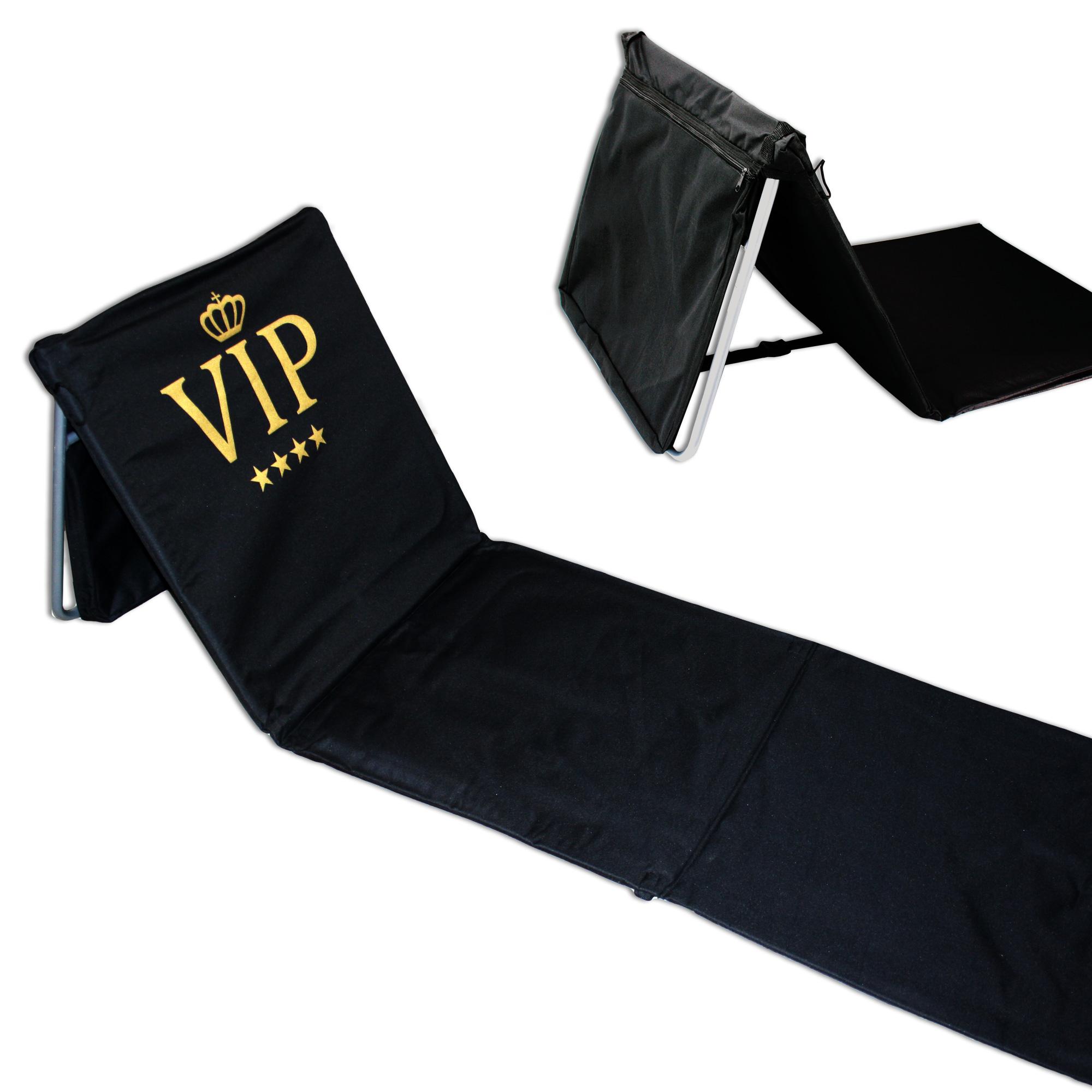 Pliable chaise de plage natte de plage chaise longue for Relax plage pliante