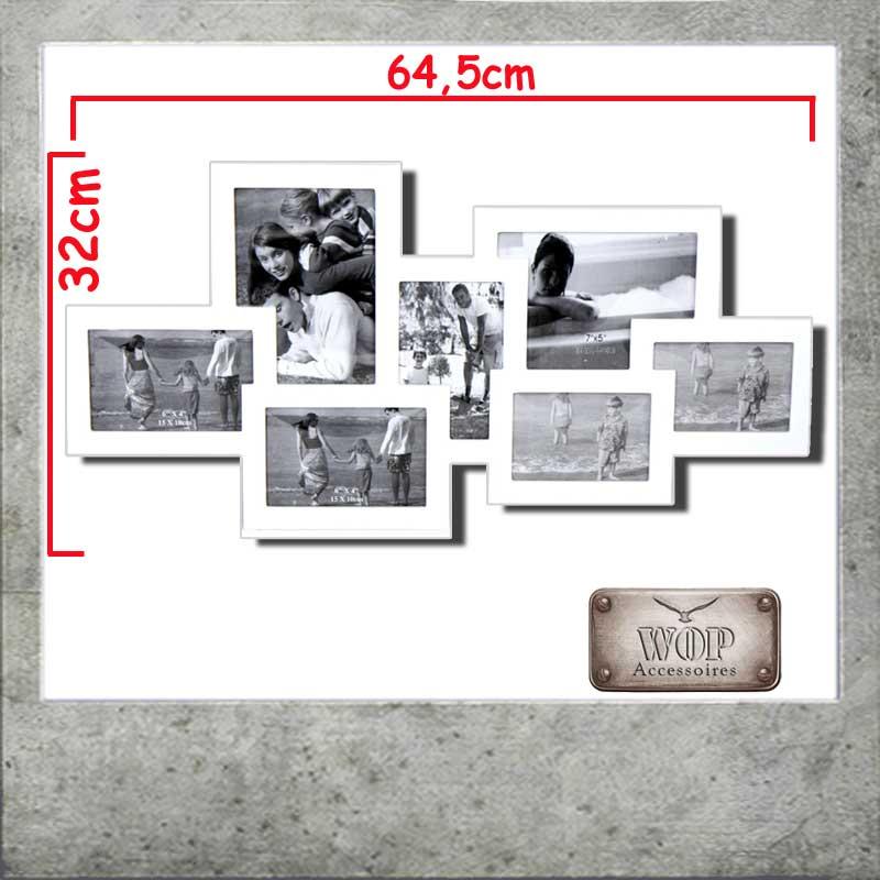 bilderrahmen bildergalerie 7 fotos fotogalerie fotorahmen collage neu ebay. Black Bedroom Furniture Sets. Home Design Ideas