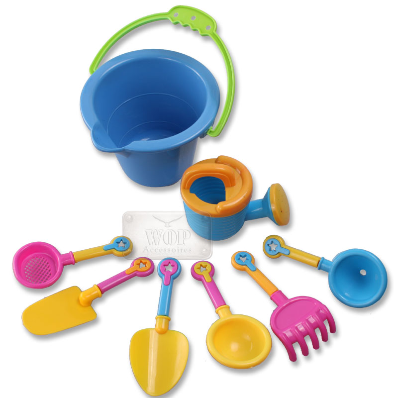 Xxl-Beach-Toy-Bucket-Shovel-Watering-Can-Sand-Toys-Sand-Box