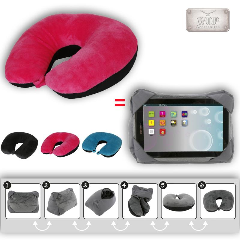 2in1 nackenrolle tabletst nder nackenkissen ipad tablet halter kissen ebay. Black Bedroom Furniture Sets. Home Design Ideas