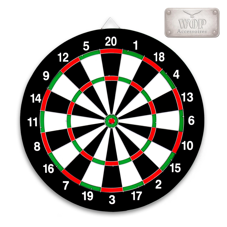 Dartscheibe dartspiel dartboard pfeile 6 wurfpfeile - Diana de colores ...
