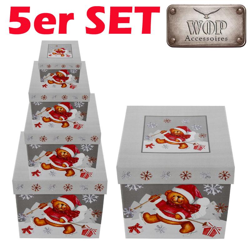 boxenset weihnachten geschenkkarton karton set geschenkbox. Black Bedroom Furniture Sets. Home Design Ideas