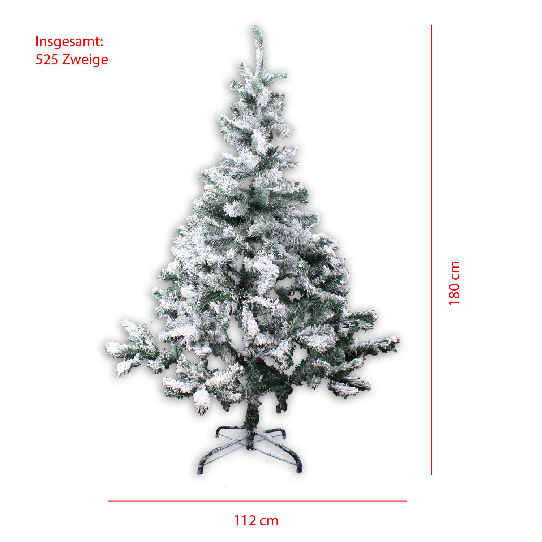 k nstlicher weihnachtsbaum 150 180 cm christbaum 350 525. Black Bedroom Furniture Sets. Home Design Ideas
