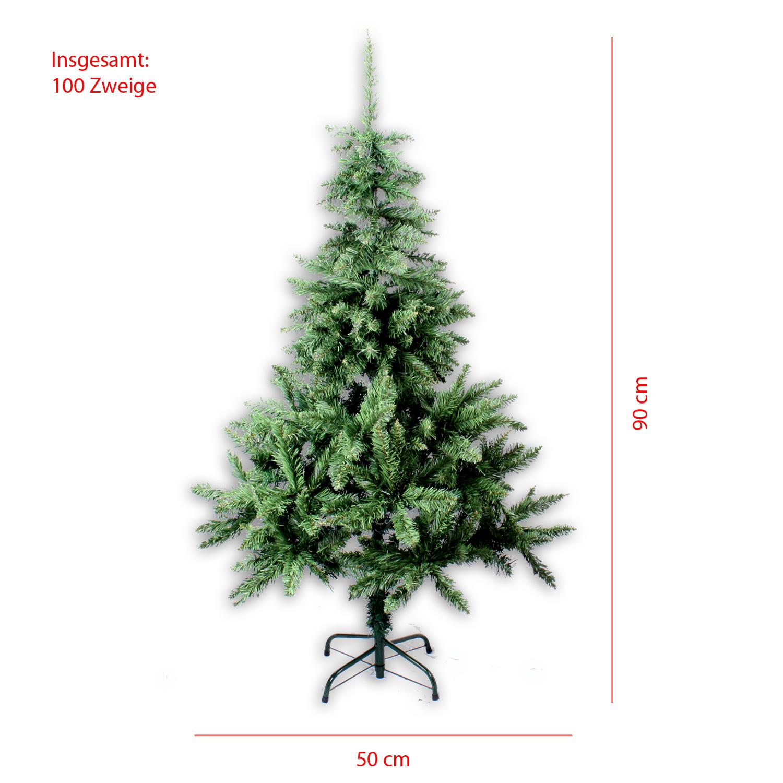 k nstlicher weihnachtsbaum 90 210 cm christbaum 100 960 zweige tannenbaum tirol ebay. Black Bedroom Furniture Sets. Home Design Ideas