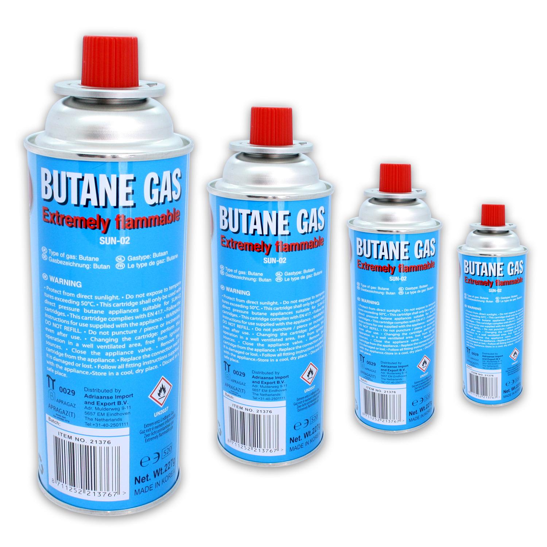 4 bottles butane gas 227 g cooker weed burner ebay. Black Bedroom Furniture Sets. Home Design Ideas