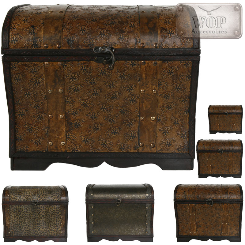 holztruhe holzkiste alte truhe schatzkiste piratenkiste kolonialstil kiste antik ebay. Black Bedroom Furniture Sets. Home Design Ideas