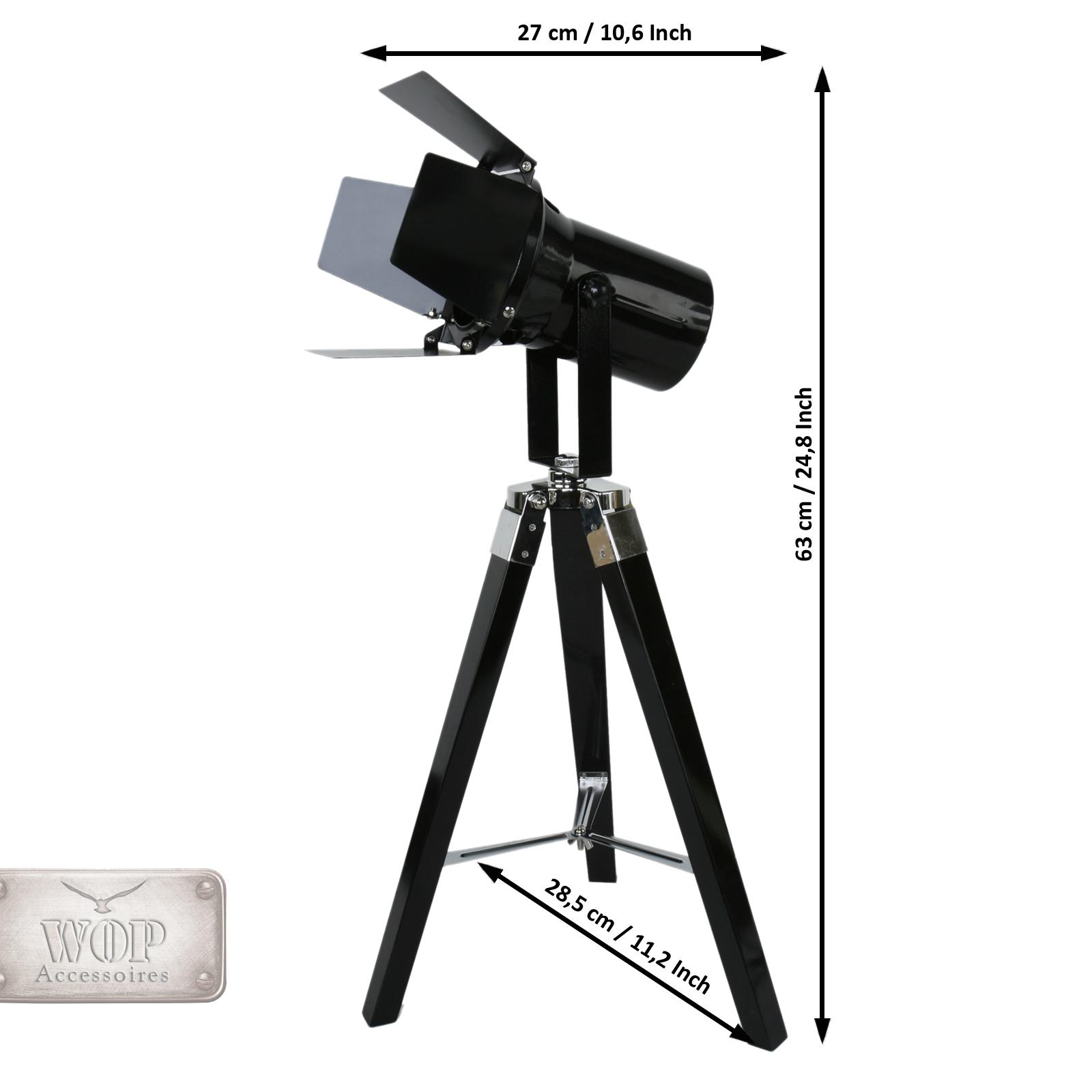 Stehlampe Scheinwerfer Designerlampe Filmscheinwerfer