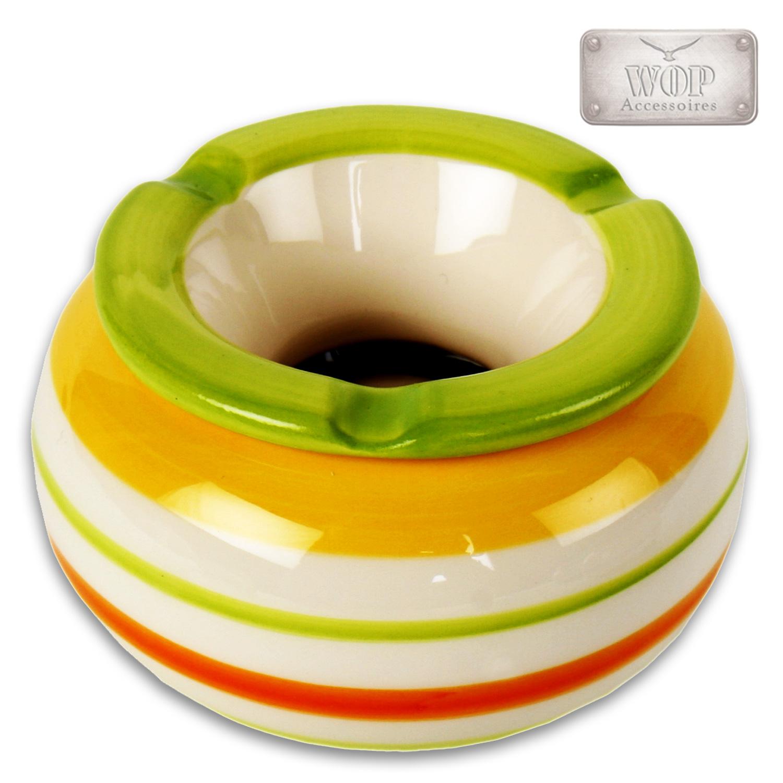sturmaschenbecher aschenbecher windaschenbecher ascher 14 5 cm keramik xl bunt ebay. Black Bedroom Furniture Sets. Home Design Ideas