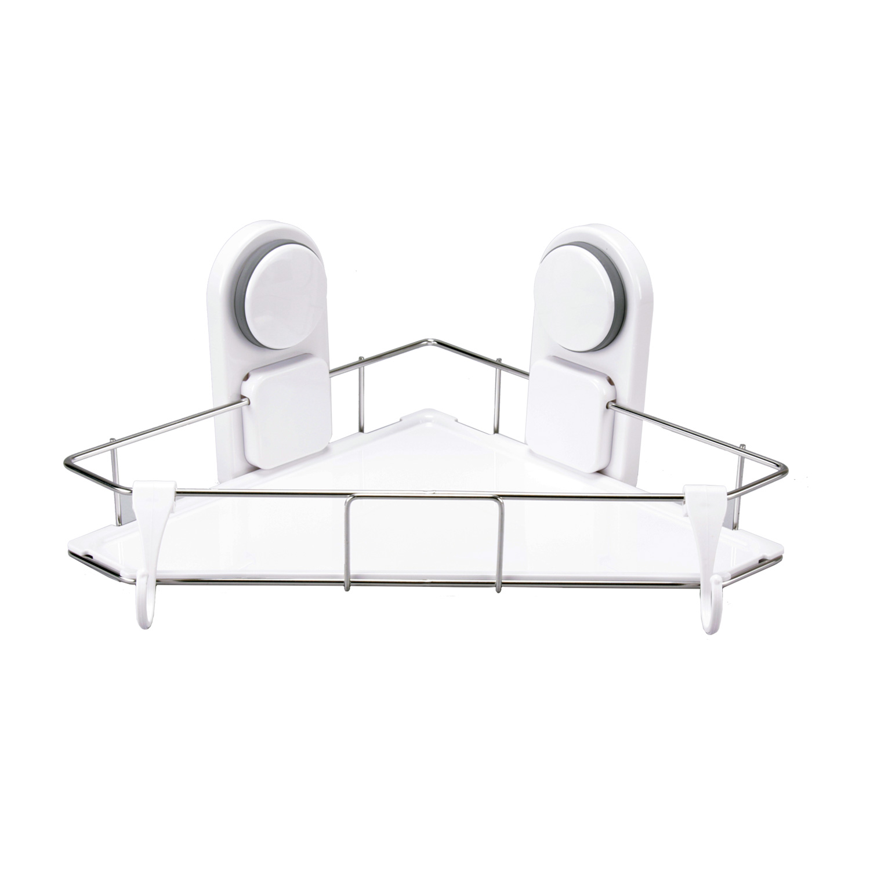 tablette de coin bain eckwandablage tag re douche panier. Black Bedroom Furniture Sets. Home Design Ideas