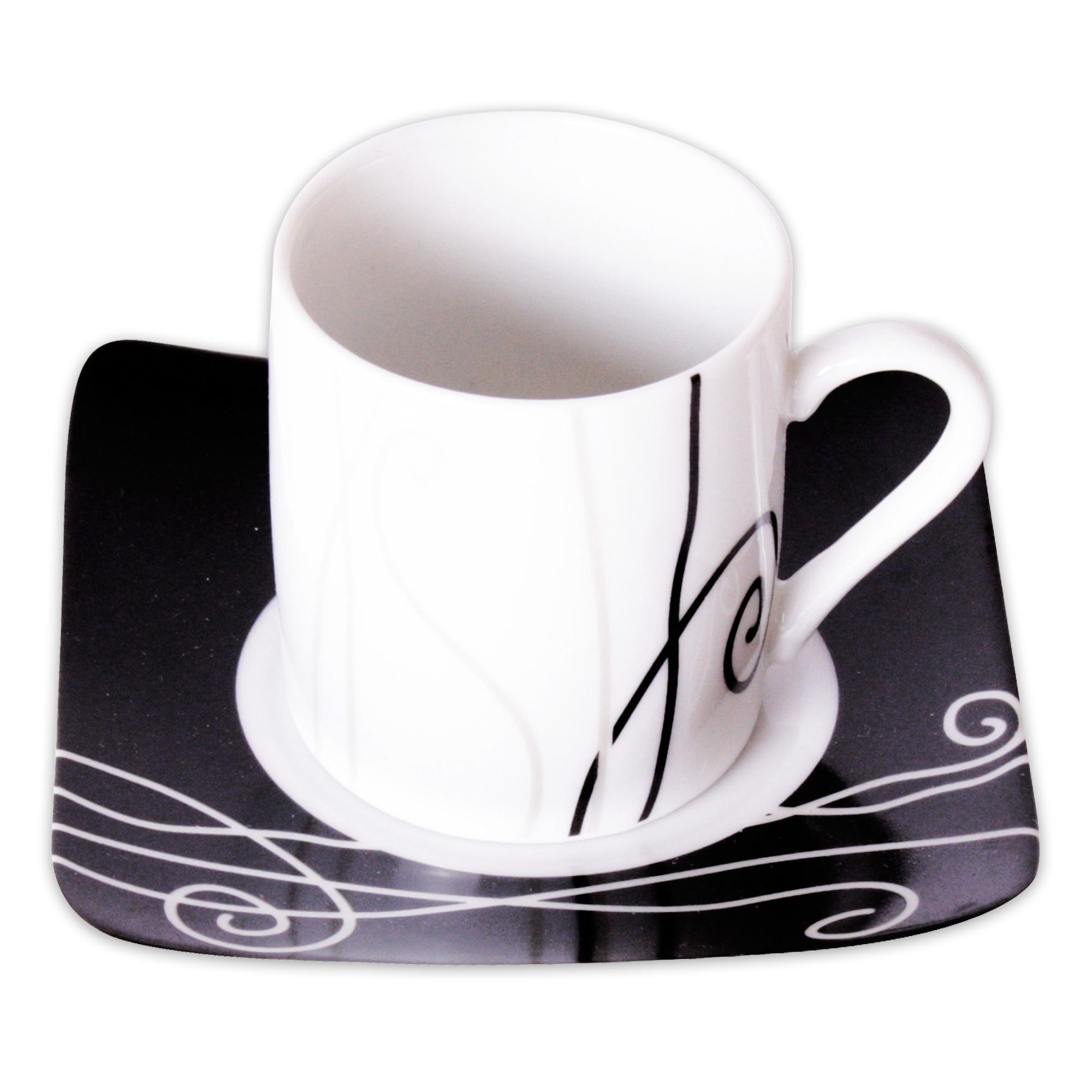 4 Edle Espressotassen Aus Keramik 5 5 X 5 Cm In Edlem