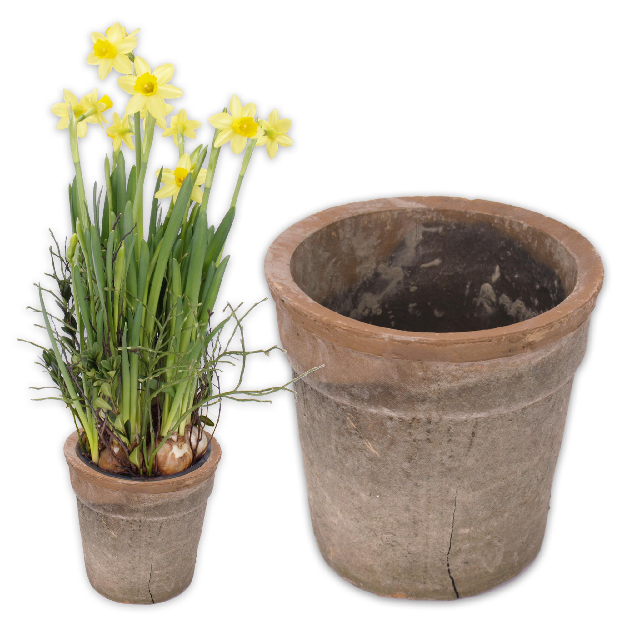 2 x blumen bertopf aus keramik im antik look 12 5 cm hoch 12 5 cm rustico. Black Bedroom Furniture Sets. Home Design Ideas