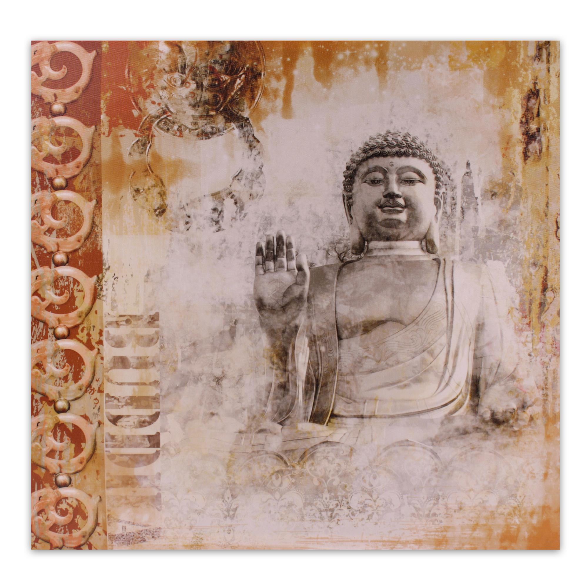 kunstdruck buddha leinwand bild keilrahmen esoterik m nch. Black Bedroom Furniture Sets. Home Design Ideas