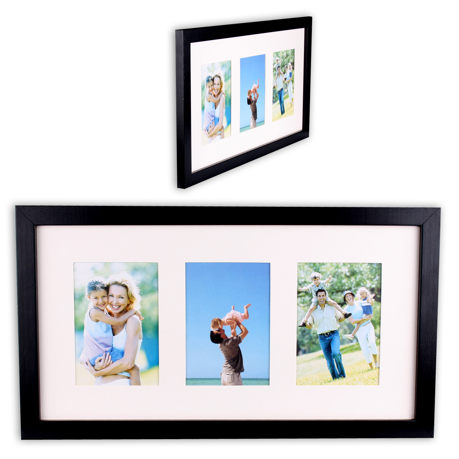Picture Frame Photo Gallery Wood 9 x 13 + 3 7/8x5 7/8in | eBay
