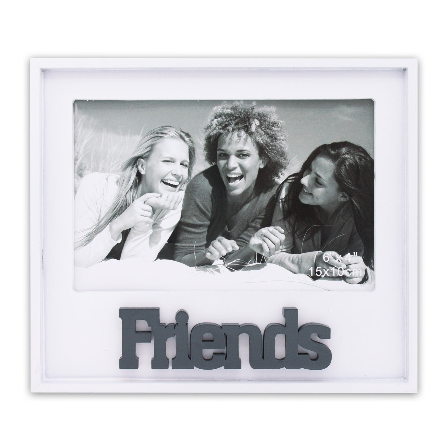 bilderrahmen fotorahmen fotohalter foto 10x15 cm friends family mum dad hund ebay. Black Bedroom Furniture Sets. Home Design Ideas