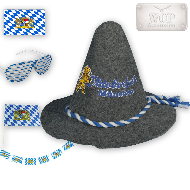 girlande oktoberfest bayern party fahne brille flagge trachten hut set ebay. Black Bedroom Furniture Sets. Home Design Ideas