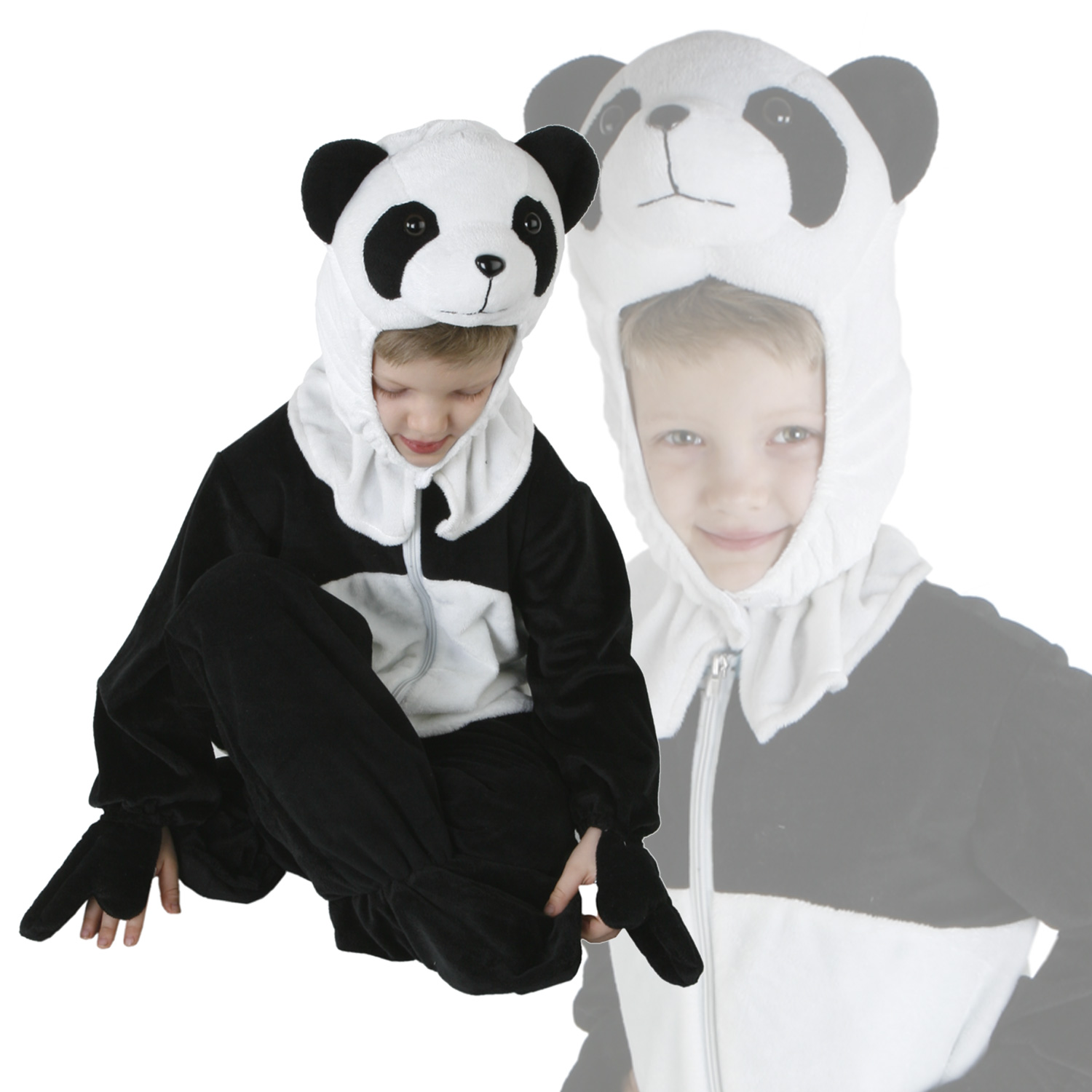 fasching kost m kinderkost m hund katze kuh panda frosch fuchs hase 98 126 ebay. Black Bedroom Furniture Sets. Home Design Ideas