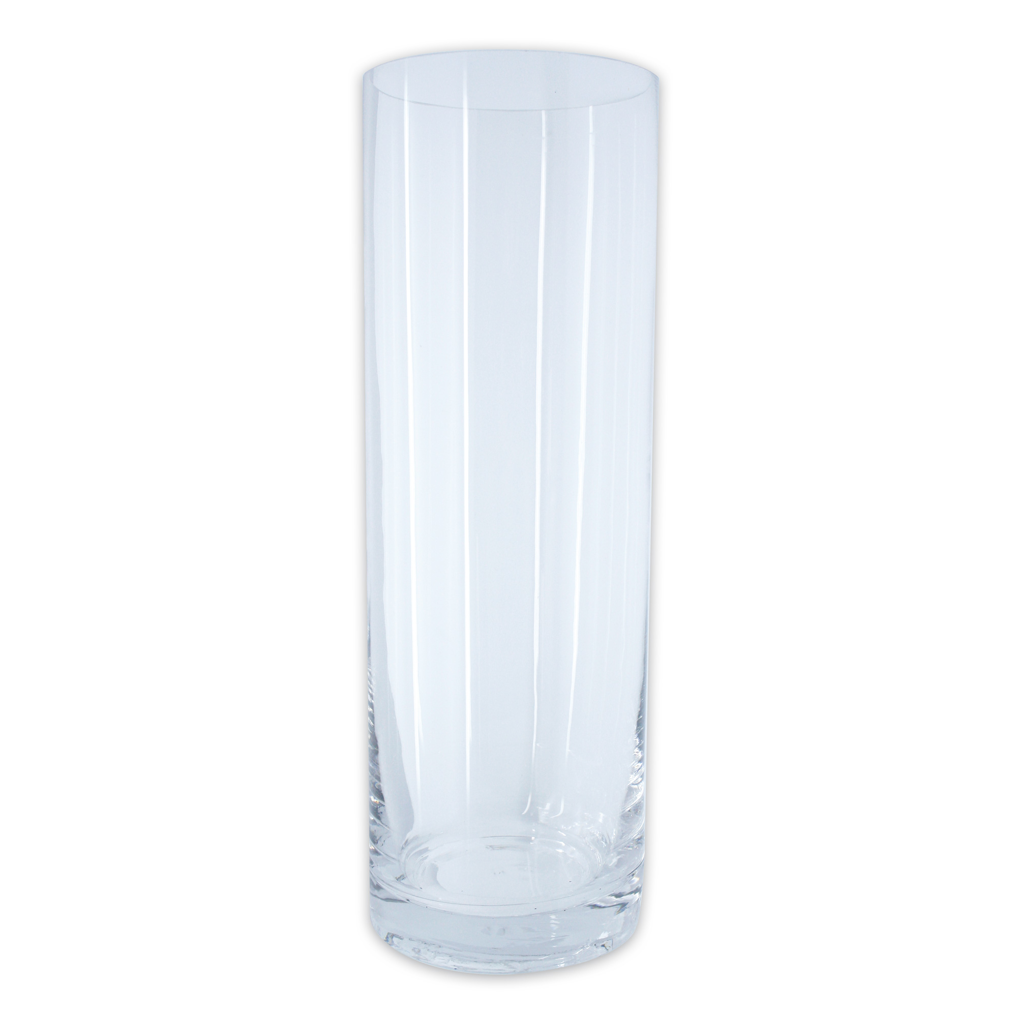 glasvase glas vase blumenvase dekovase windlicht glaszylinder h he 30 cm 10 cm ebay. Black Bedroom Furniture Sets. Home Design Ideas