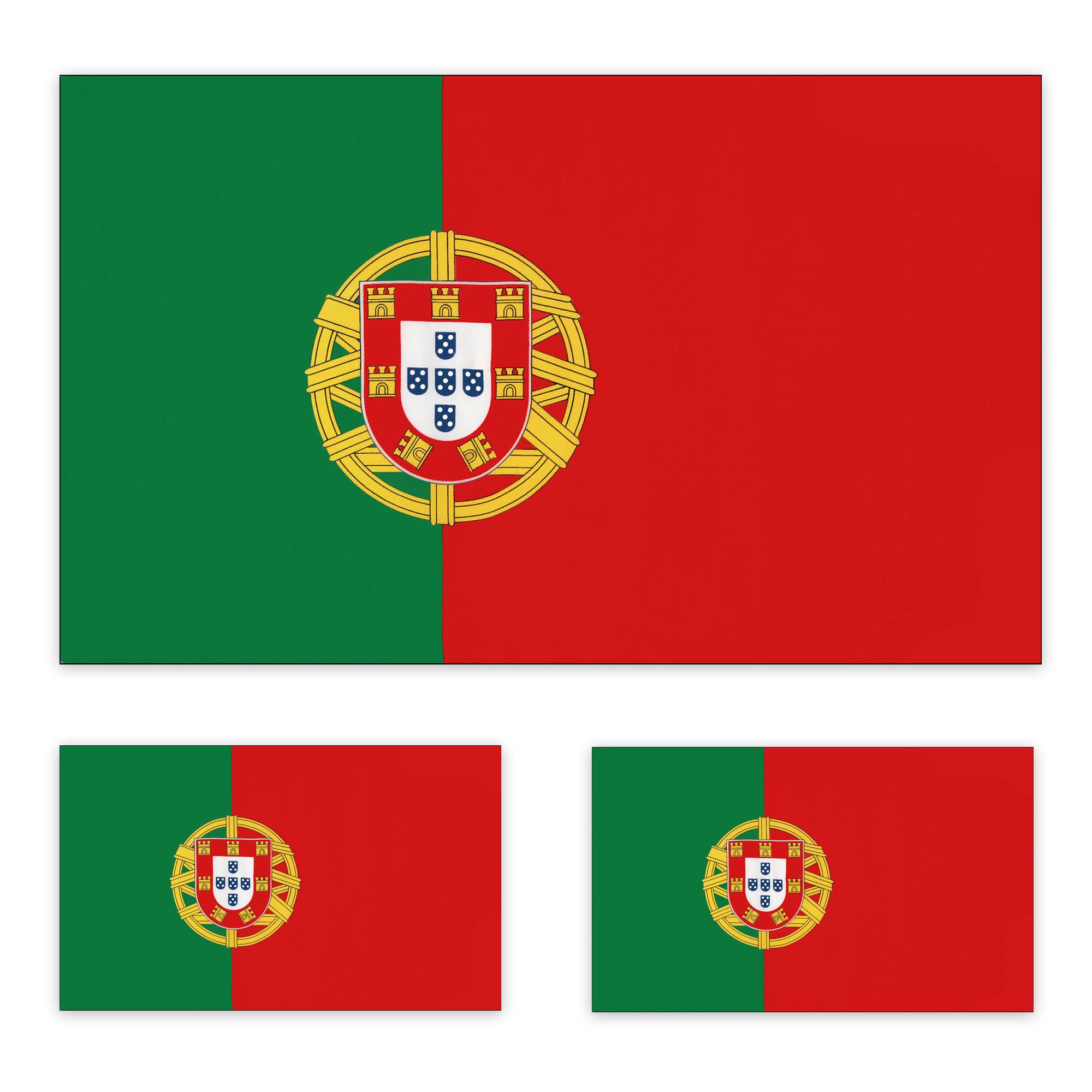 3 X Portugal Fahne 90 X 150 Cm Portugalfahne PORTUGAL