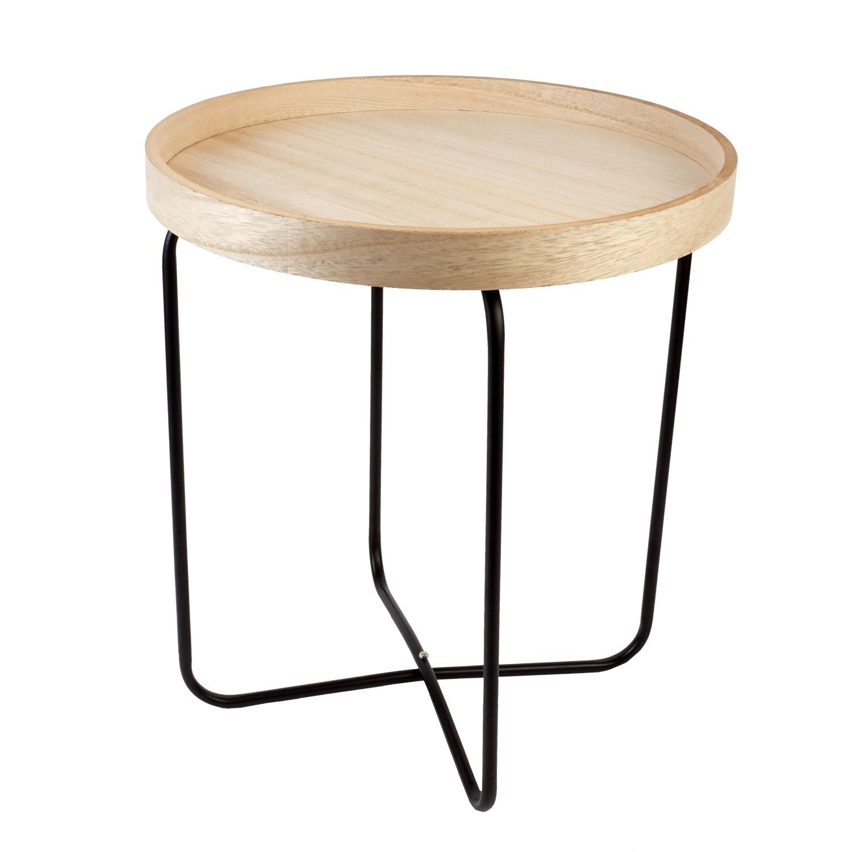Détails sur Table D\'Appoint de Chevet Design Salon Tabouret Ø 40 CM