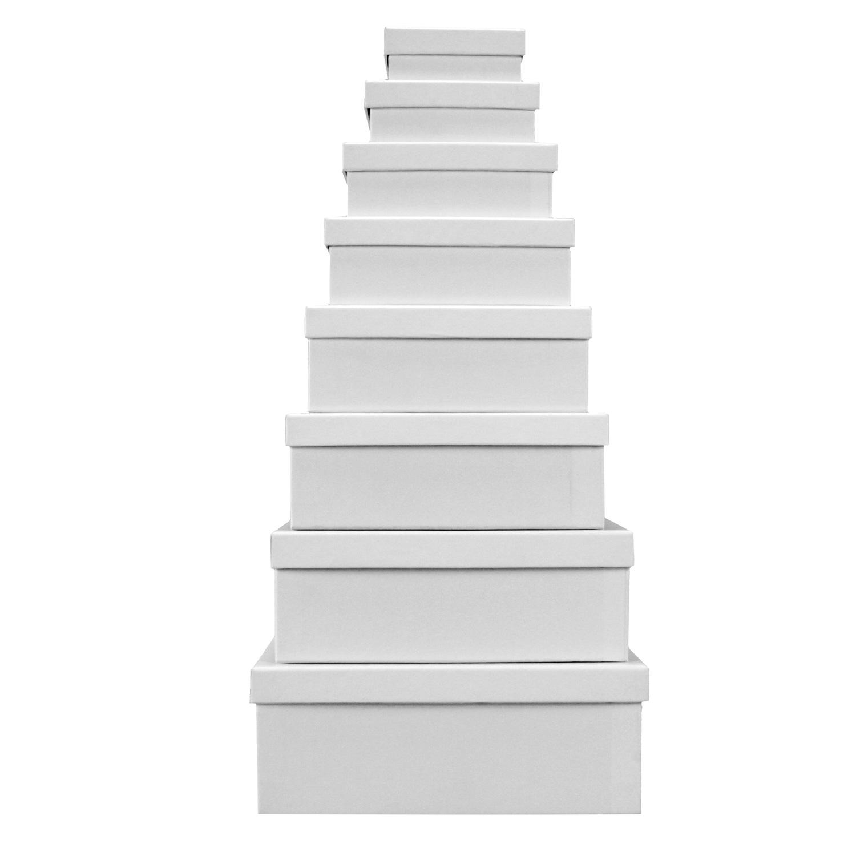 8er set boxenset weihnachten geschenkkarton karton set. Black Bedroom Furniture Sets. Home Design Ideas